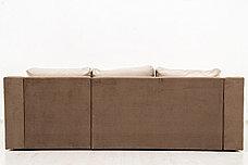 Диван угловой раскладной Малахит 2, Ника05//ПодНика02, АСМ (Россия), фото 3