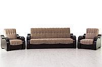 Комплект мягкой мебели Рио 4, Кофе с молоком, Мебельный Формат(Россия)