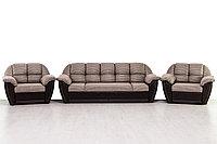 Комплект мягкой мебели Блистер, Коричневый, АСМ(Россия)