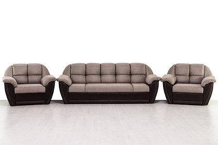 Комплект мягкой мебели Блистер, Коричневый, АСМ(Россия), фото 2