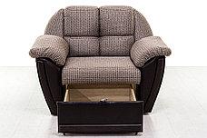 Комплект мягкой мебели Блистер, Коричневый, АСМ(Россия), фото 3
