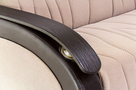 Комплект мягкой мебели Сиеста 2, Бежевый Темный, АСМ(Россия), фото 2