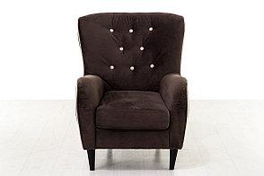 Кресло традиционное Мадрид 315, 258, коричнево-/бежевый, СМК (Россия), фото 2