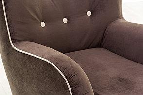 Кресло традиционное Мадрид 315, 258, коричнево-/бежевый, СМК (Россия), фото 3