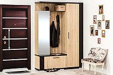 Шкаф прихожая 3Д Марк 150, Дуб Самоа, MEBEL SERVICE (Украина), фото 3