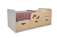 Кровать односпальная Лего, Крем, БТС (Россия)