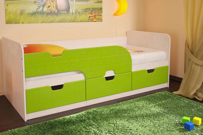 Кровать односпальная Минима, Лайм, БТС (Россия), фото 2