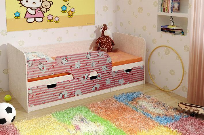 Кровать односпальная Минима, Дуб Атланта, БТС (Россия), фото 2