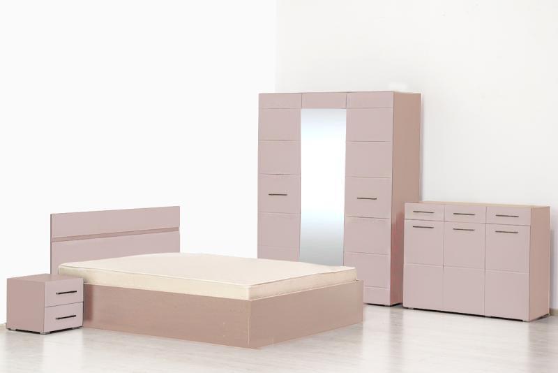 Ненси - С/Г, Шкаф 3Д, + оснвоание ПМ, Ясень шимо светлый/Какао глянец, Горизонт
