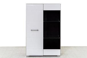 Шкаф стеллаж 1Д , коллекции Ненси, Белый, Горизонт (Россия), фото 2