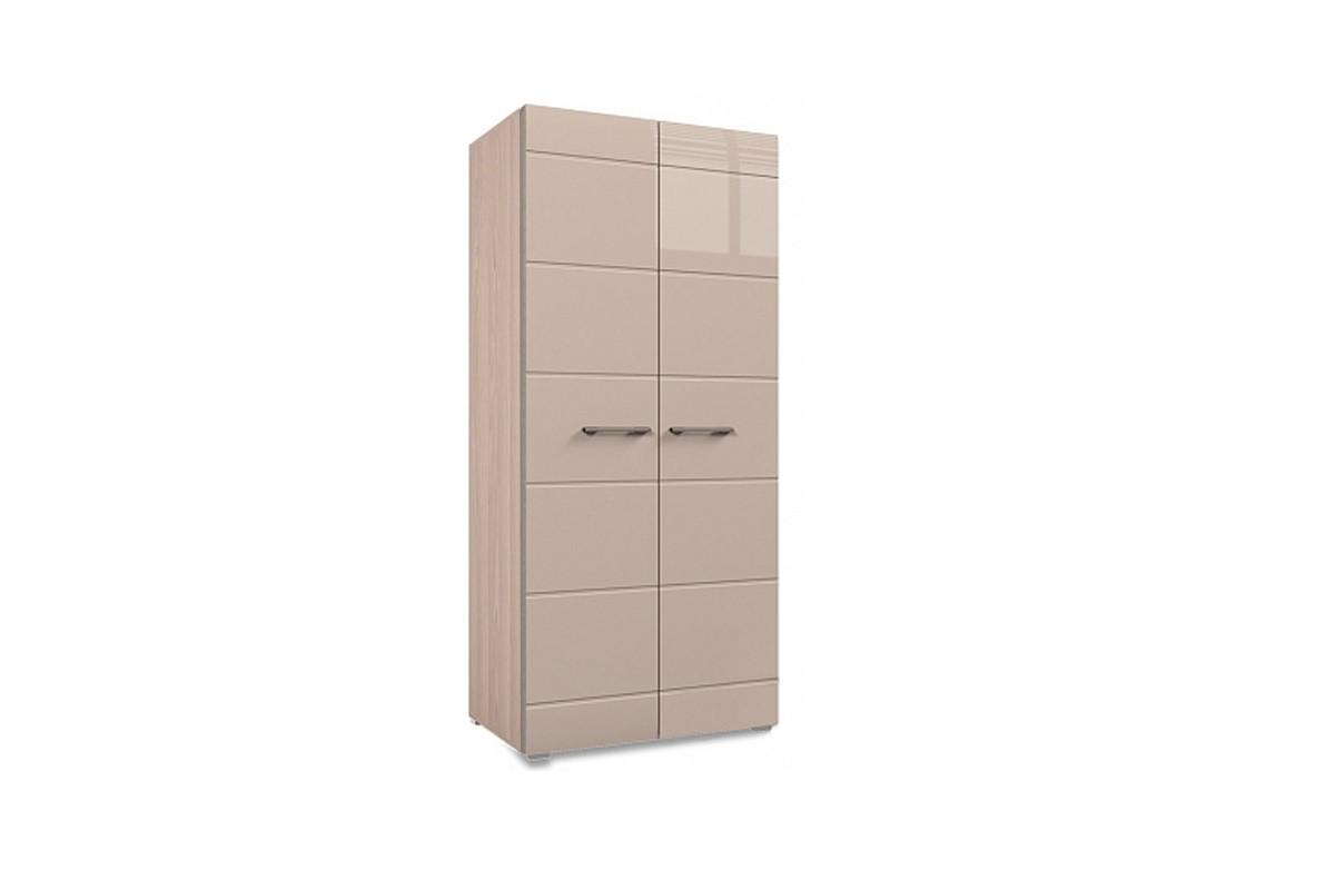 Шкаф для одежды 2Д (2Д), коллекции Ненси, Какао, Горизонт (Россия)