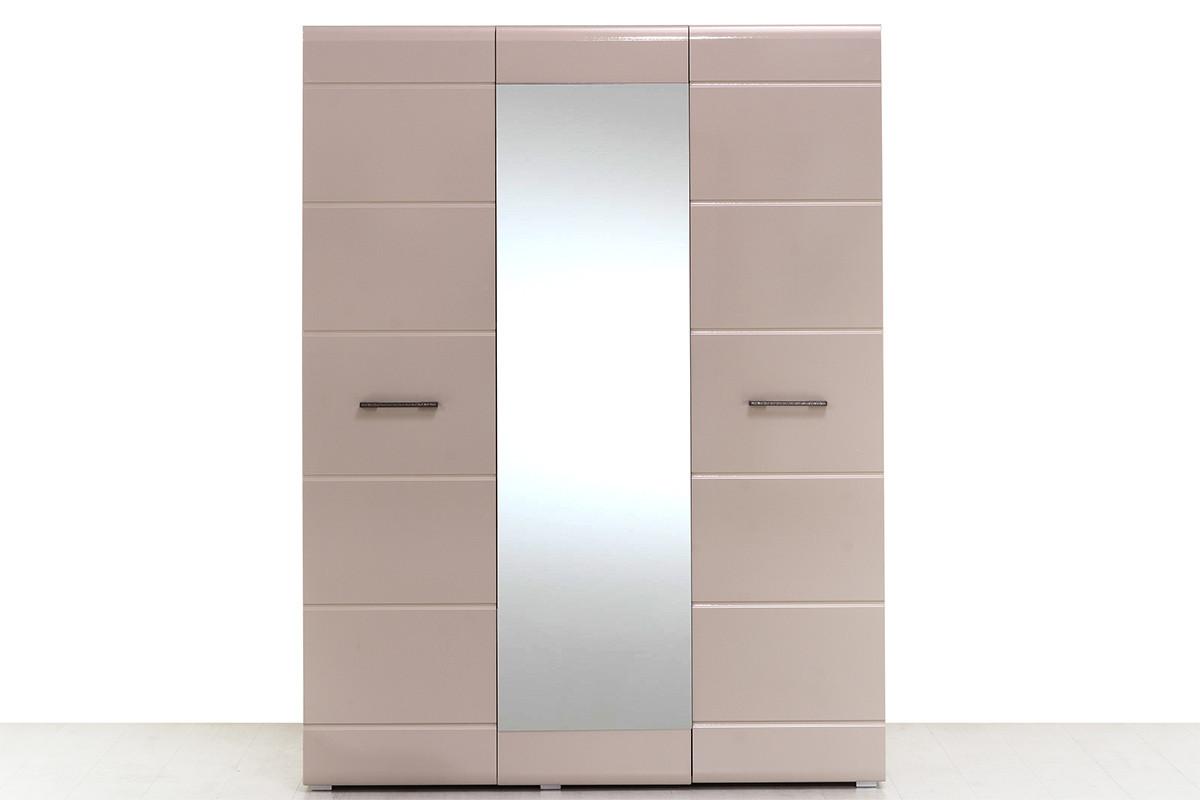Шкаф для одежды 3Д (3Д), коллекции Ненси, Какао, Горизонт (Россия)