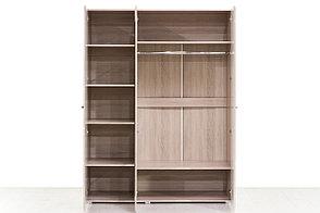 Шкаф для одежды 3Д (3Д), коллекции Ненси, Какао, Горизонт (Россия), фото 3