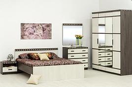 Комплект мебели для спальни Ольга 13, Ясень Анкор светлый, Фант Мебель(Россия)