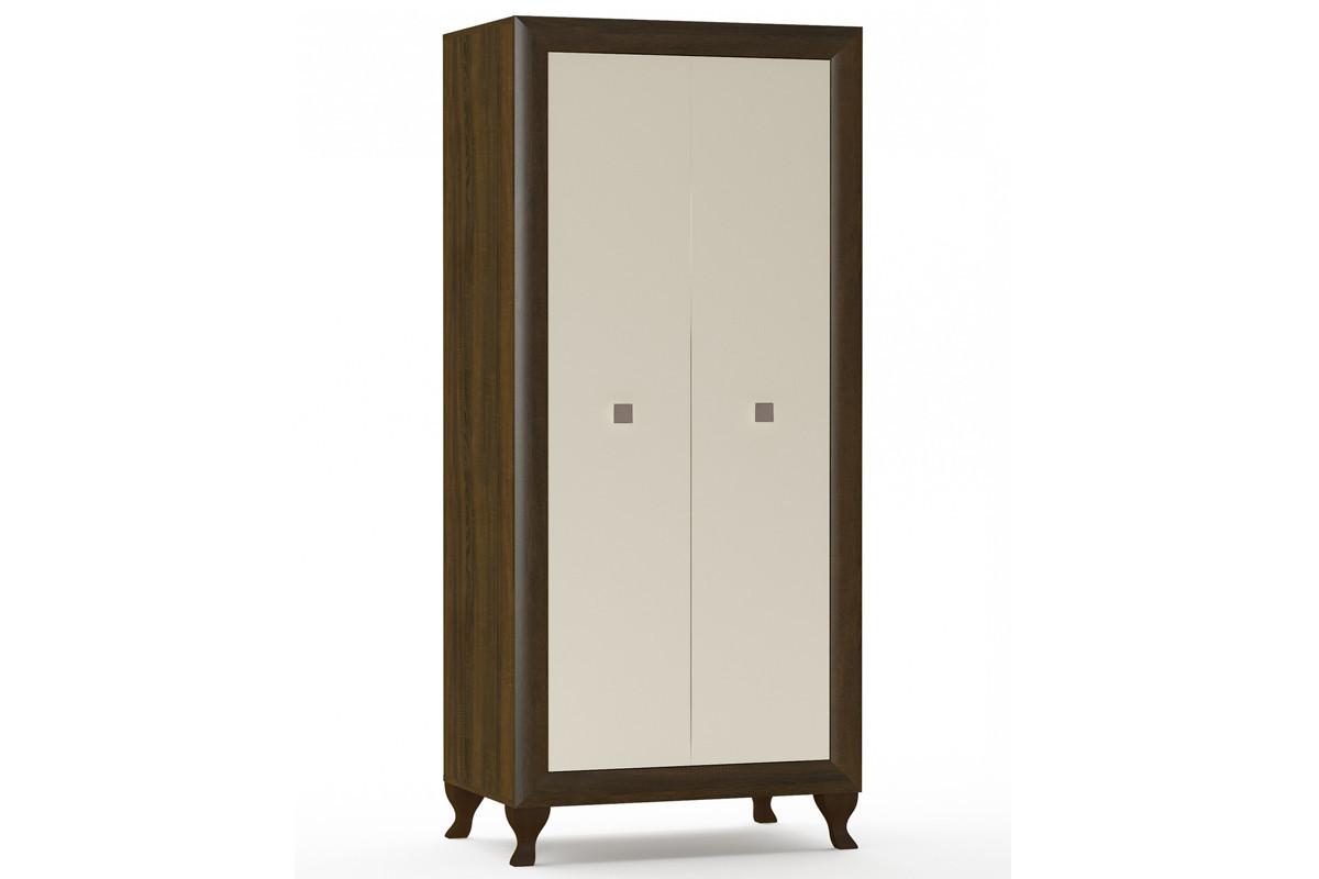 Шкаф для одежды 2Д  (2Д) Парма, Крем, MEBEL SERVICE (Украина)