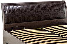 Кровать двуспальная, модульной системы Парма, Венге, Кураж (Россия), фото 3
