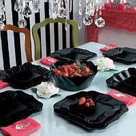 Столовый сервиз Luminarc Authentic Black 19 предметов на 6 персон