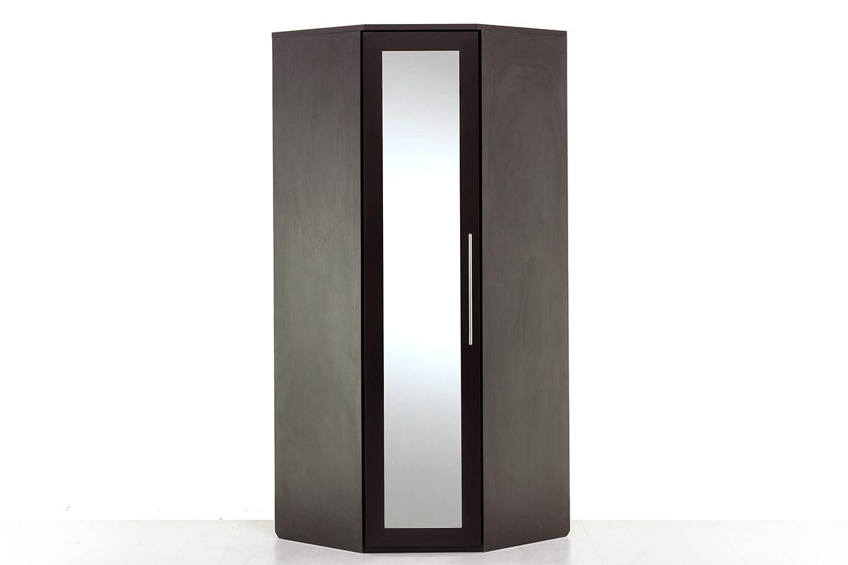 Шкаф для одежды угловой 1Д , модульной системы Парма, Венге, Кураж (Россия)