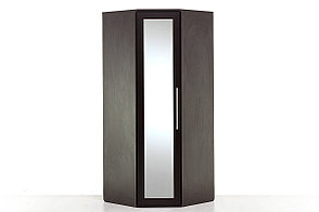 Шкаф для одежды угловой 1Д , модульной системы Парма, Венге, Кураж (Россия), фото 2