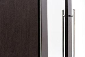 Шкаф для одежды угловой 1Д , модульной системы Парма, Венге, Кураж (Россия), фото 3