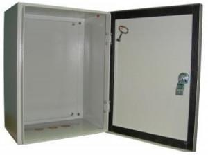 Щит с монтажной панелью ЩМП-1 IP 54 (395х310х220) EKT