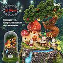 """Кукольный сувенирный домик """"Вращающаяся музыкальная фантазия"""" в миниатюре (собери сам), фото 2"""