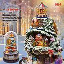 """Кукольный сувенирный домик """"Вращающаяся музыкальная фантазия"""" в миниатюре (собери сам), фото 4"""