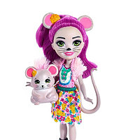 Mattel Enchantimals FXM76 Кукла с питомцем Мышка Майла, фото 1