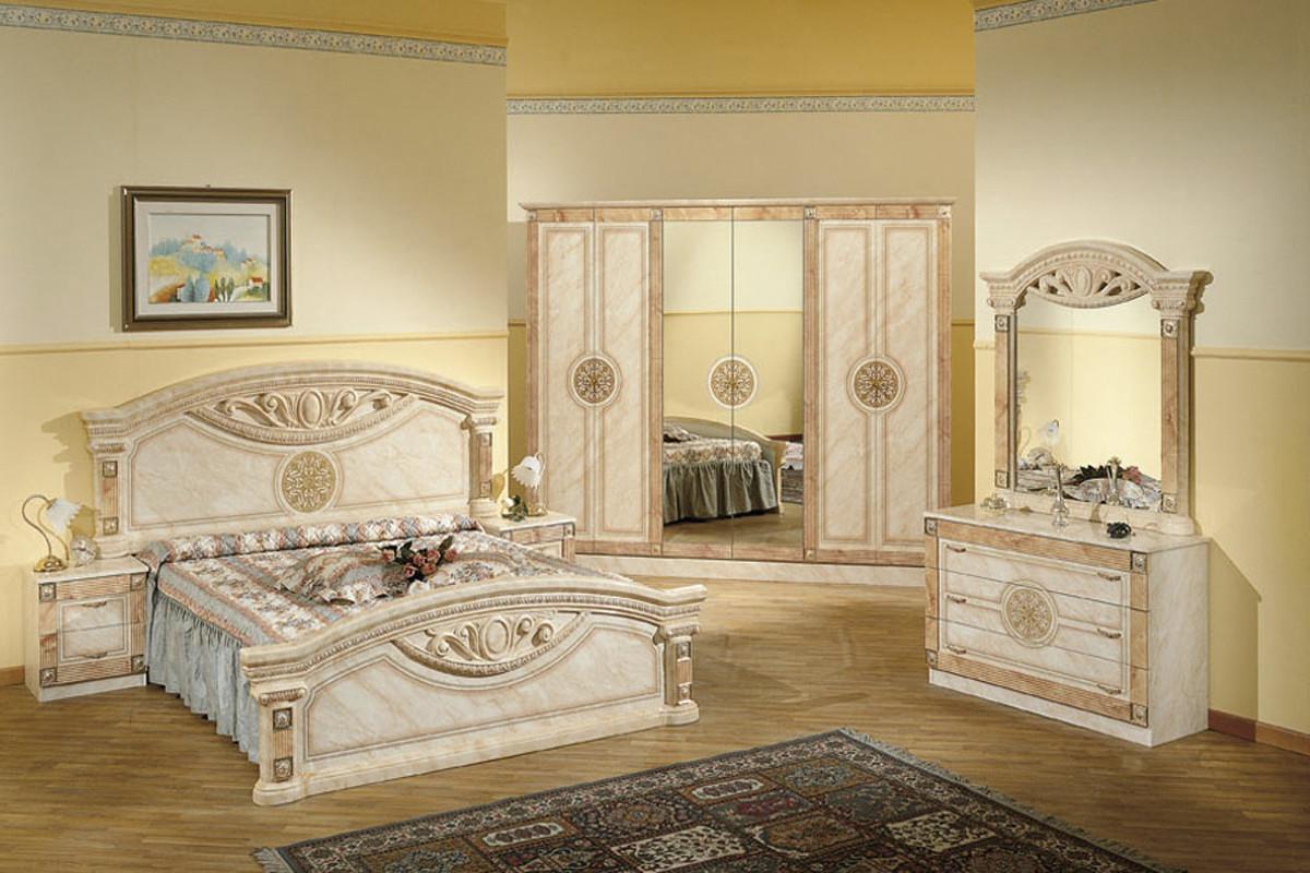 Шкаф для одежды 6Д (6Д) как часть комплекта Рома, Клен, MEBEL SERVICE (Украина)