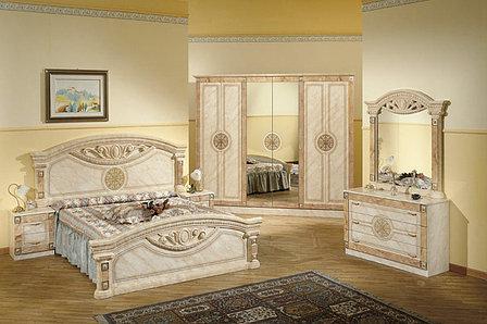 Шкаф для одежды 6Д (6Д) как часть комплекта Рома, Клен, MEBEL SERVICE (Украина), фото 2
