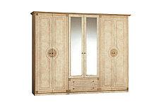 Шкаф для одежды 6Д (6Д) как часть комплекта Рома, Клен, MEBEL SERVICE (Украина), фото 3