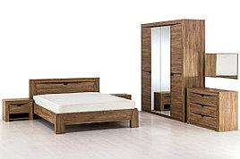Комплект мебели для спальни Соренто, Дуб Стирлинг, Мебельград(Россия)
