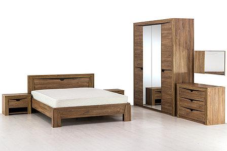 Комплект мебели для спальни Соренто, Дуб Стирлинг, Мебельград(Россия), фото 2