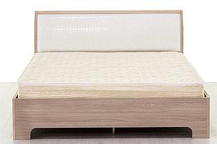 Кровать двуспальная, модульной системы Сорренто, Ясень Светлый, Кураж (Россия), фото 2