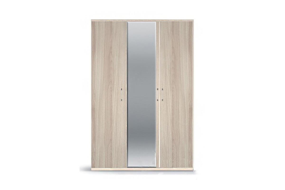 Шкаф для одежды 3Д , модульной системы Сорренто, Ясень Светлый, Кураж (Россия)