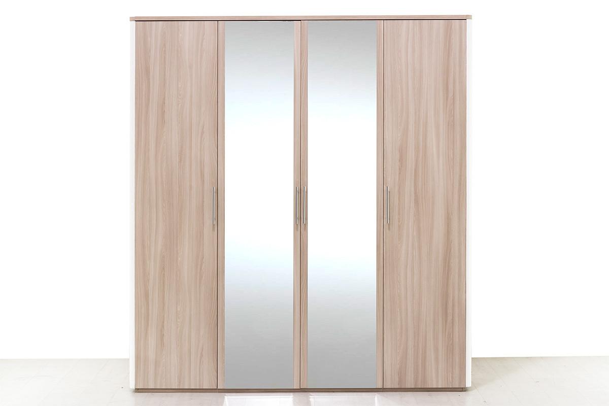 Шкаф для одежды 4Д , модульной системы Сорренто, Ясень Светлый, Кураж (Россия)