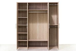 Шкаф для одежды 4Д , модульной системы Сорренто, Ясень Светлый, Кураж (Россия), фото 3
