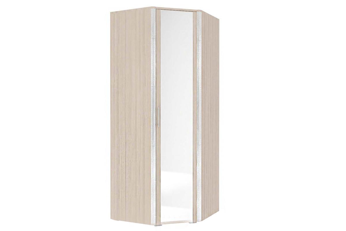 Шкаф для одежды угловой 1Д , модульной системы Сорренто, Ясень Светлый, Кураж (Россия)