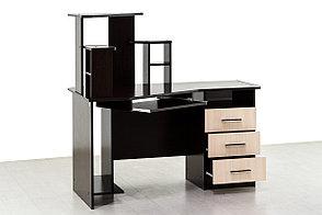 Стол компьютерный, угловой 3, Дуб Млечный , СВ Мебель (Россия), фото 2