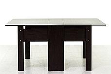 Стол книжка раздвижной, Дуб Венге 101, СВ Мебель (Россия), фото 2