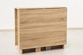 Стол книжка раздвижной, Дуб Сонома 101, СВ Мебель (Россия)