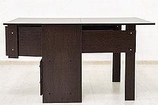 Стол книжка раздвижной, Дуб Венге 102, СВ Мебель (Россия), фото 3