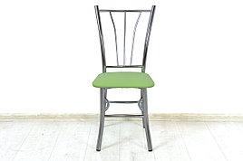 Стул Классик 5, Металл/Серебро, Рустика Лайм, СВ Мебель (Россия)