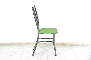 Стул Классик 5, Металл/Серебро, Рустика Лайм, СВ Мебель (Россия), фото 2