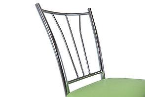 Стул Классик 5, Металл/Серебро, Рустика Лайм, СВ Мебель (Россия), фото 3