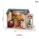 Кукольный сувенирный домик в миниатюре (собери сам), фото 2