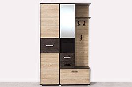 Шкаф прихожая 3Д  Танго 1, Сонома, Горизонт (Россия)