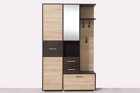 Шкаф прихожая 3Д Танго 1, Сонома, Горизонт (Россия), фото 2
