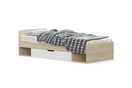Кровать односпальная (90) Типс, Дуб Сонома, MEBEL SERVICE (Украина), фото 2