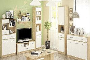 Шкаф витрина 1Д (1В1Д1Ш) Типс, Белый, MEBEL SERVICE (Украина), фото 2